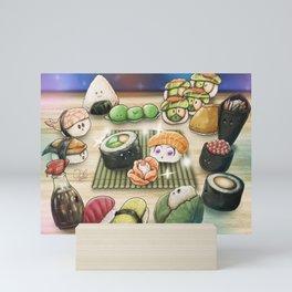 Sushi Rose Mini Art Print
