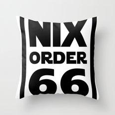 Nix Order 66 Throw Pillow