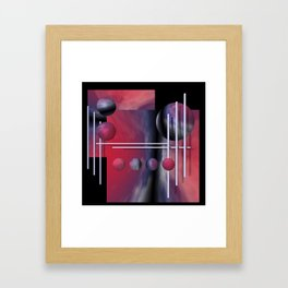 liking geometry -2- Framed Art Print