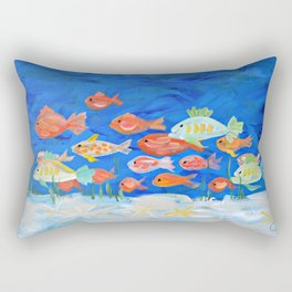 Go Fish! Rectangular Pillow