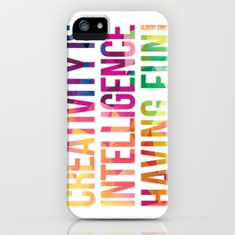 Creativity  iPhone Case
