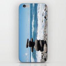 Rock tower iPhone & iPod Skin