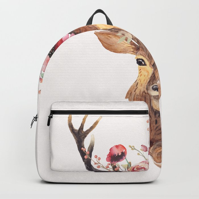 Bohemian Deer Backpack