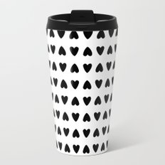 black hearts Travel Mug