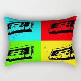 Cassettes Square Rectangular Pillow