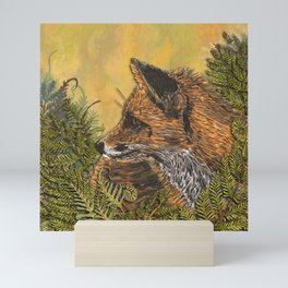 Ferny Fox Mini Art Print