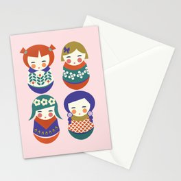 Russian Dolls Stationery Cards