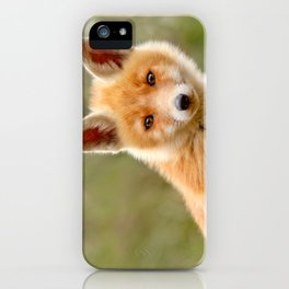 The Face of Innocence .:. Red Fox Kit iPhone Case