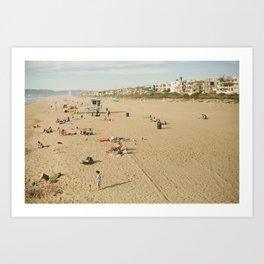 Manhattan Beach Art Print