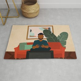Stay Home No. 6 Rug