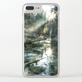 McKenzie River Tributary Clear iPhone Case