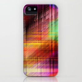 colourful linings II iPhone Case