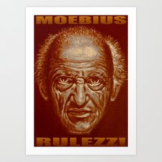 moebius rulezz 2015 Art Print