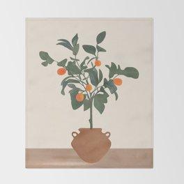 Kumquat Throw Blanket