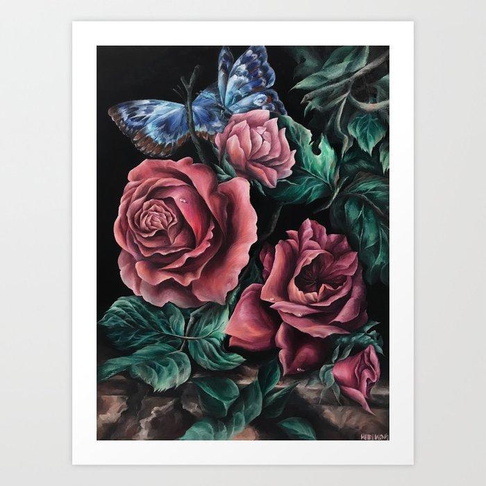 """An Interpretation"" Painting, Inspired by Willem van Aelst Art Print"