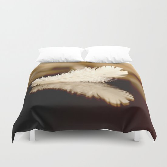 Feather Reflection Duvet Cover