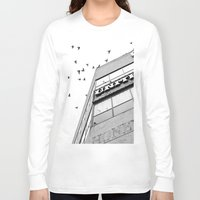 broadway Long Sleeve T-shirts featuring Broadway Birds by XtinaYo