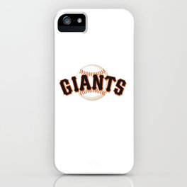 MLB Giants iPhone Case