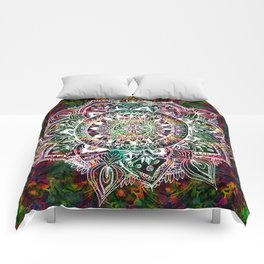 Rainforest Mandala Comforters