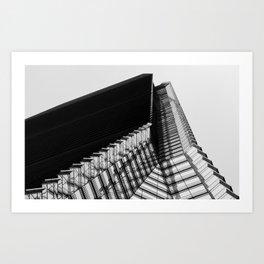ICC Tower Hong Kong Art Print