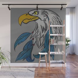 dreamcatching eagle Wall Mural