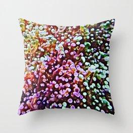 Living Reef Throw Pillow