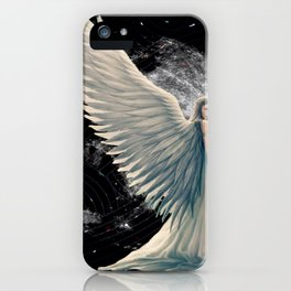 The Moon Angel iPhone Case