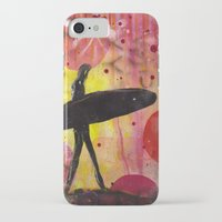 surfer iPhone & iPod Cases featuring Surfer by Sophia Buddenhagen