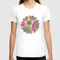 funky T-shirts featuring Funky flowers by Shelly Bremmer