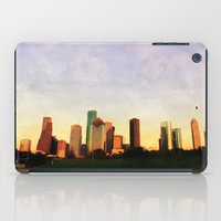houston iPad Cases featuring Houston Skyline by Tracy Carlson Photography