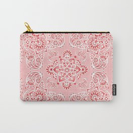 Pink Paisley Bandana Carry-All Pouch
