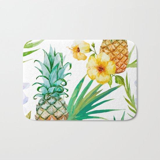 Pineapple Mood Bath Mat