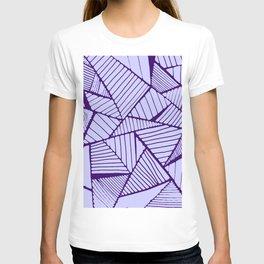 Purple Lines T-shirt