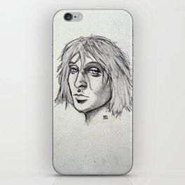 Cobain of the Rocks iPhone Skin