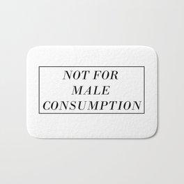 Male Consumption Bath Mat