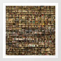 library Art Prints featuring Library by Christian Webb