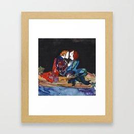 Boat Seduction Framed Art Print