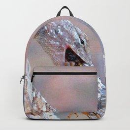 Watercolor Lizard Backpack