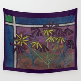 Kokum Flowers #17 Wall Tapestry