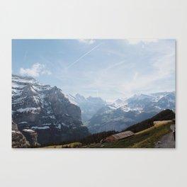 Kleine Scheidegg Canvas Print