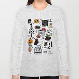 The Office doodles Long Sleeve T-shirt