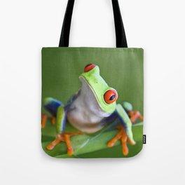 Red-eyed Tree Frog Tote Bag