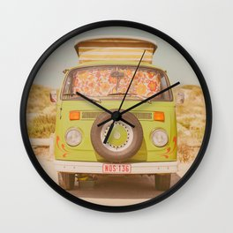 Road-Trip Van Wall Clock