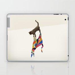 Walking Shadow, Cat Laptop & iPad Skin