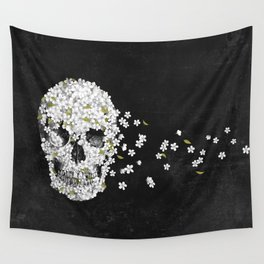 A Beautiful Death - mono Wall Tapestry