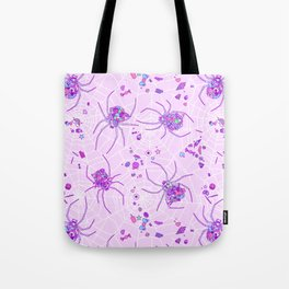 Sugar Spiders Tote Bag