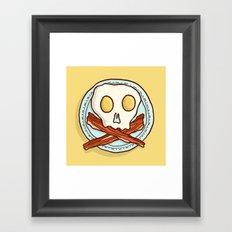 Pirate Breakfast Framed Art Print