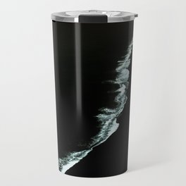Black Iceland Travel Mug