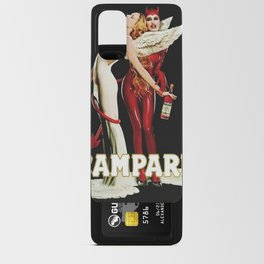 Vintage Campari Italian Bitters Aperitif Angel and Devil Advertisement Poster Android Card Case