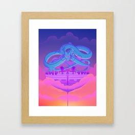 Kami's Lookout Framed Art Print